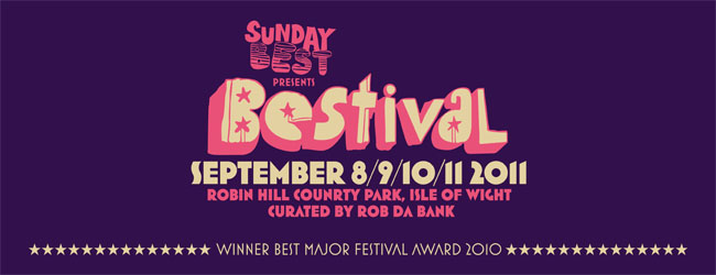 First Bestival 2011 headliner and acts announced...